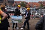 Baubeginn der Hafenresidenz Waren (Müritz)
